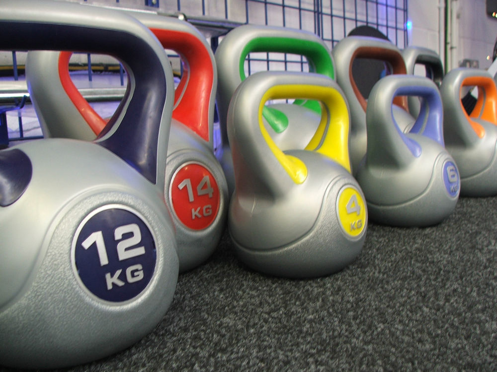 York Fitness Vinyl Coated Kettle Bells
